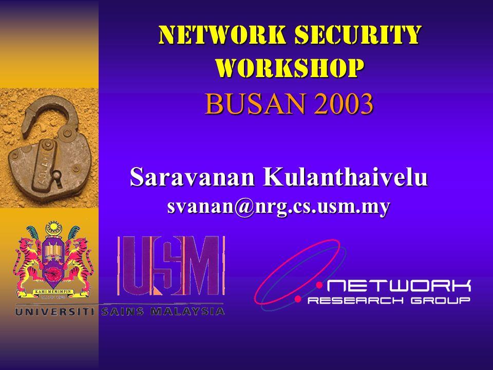 Useful Links http://www.securityfocus.com http://packetstormsecurity.org http://icat.nist.gov/icat.cfm http://wiretrip.net http://www.guninski.com/ http://nsfocus.com