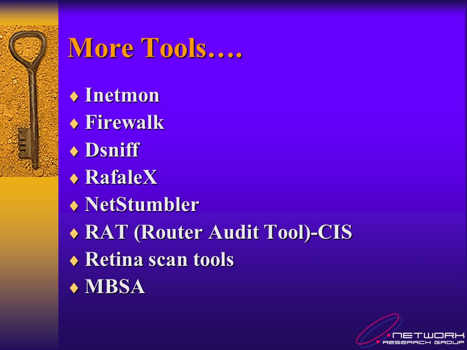 More Tools….