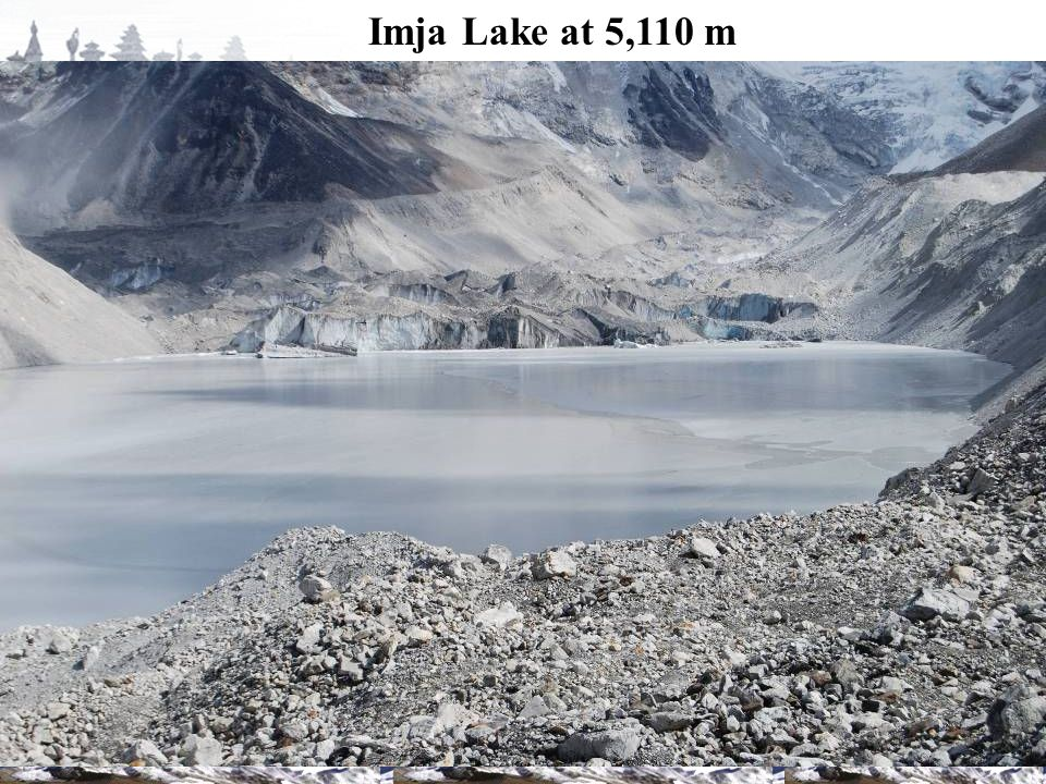 Imja Lake at 5,110 m