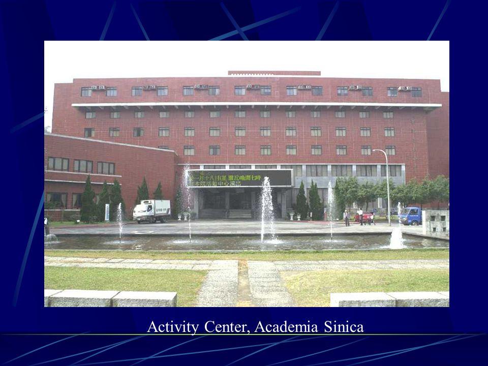 Activity Center, Academia Sinica