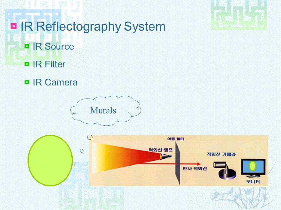 IR Reflectography System IR Source IR Filter IR Camera Murals
