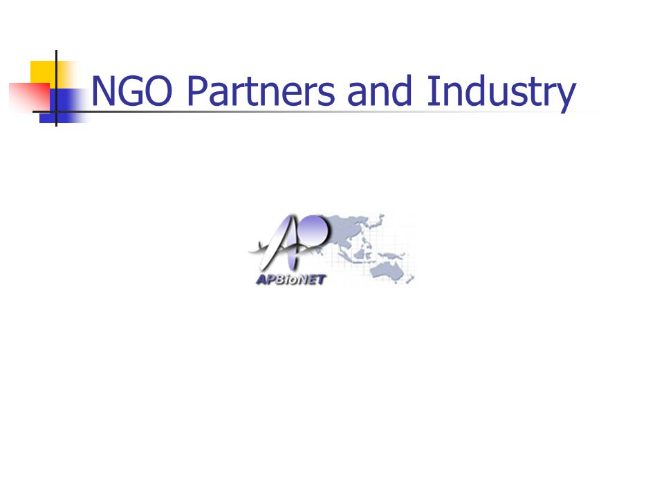 NGO Partners and Industry