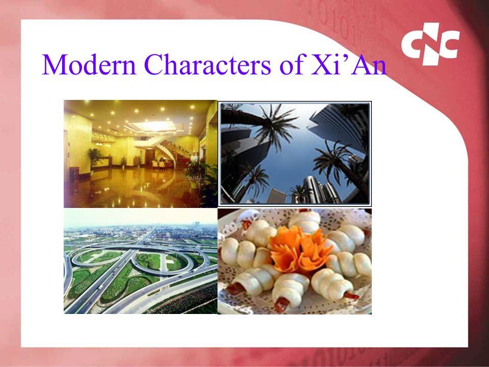 Modern Characters of XiAn