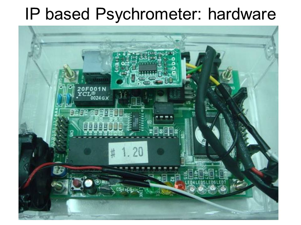 IP based Psychrometer: hardware