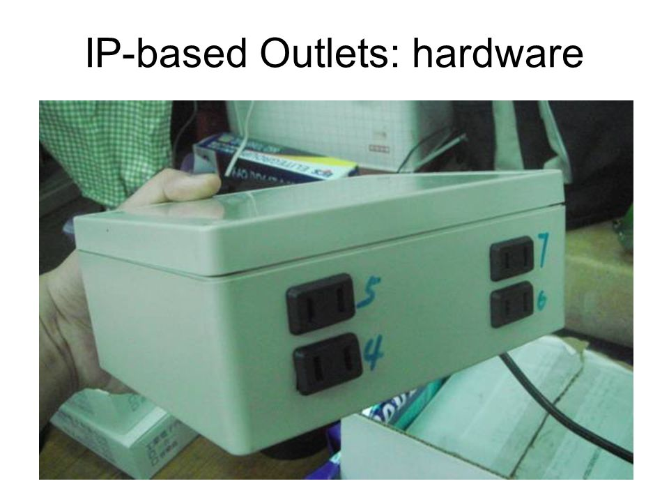 IP-based Outlets: hardware