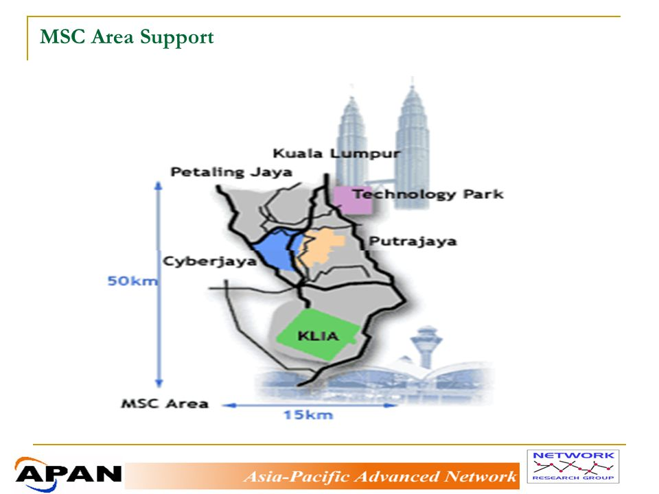 MSC Area Support