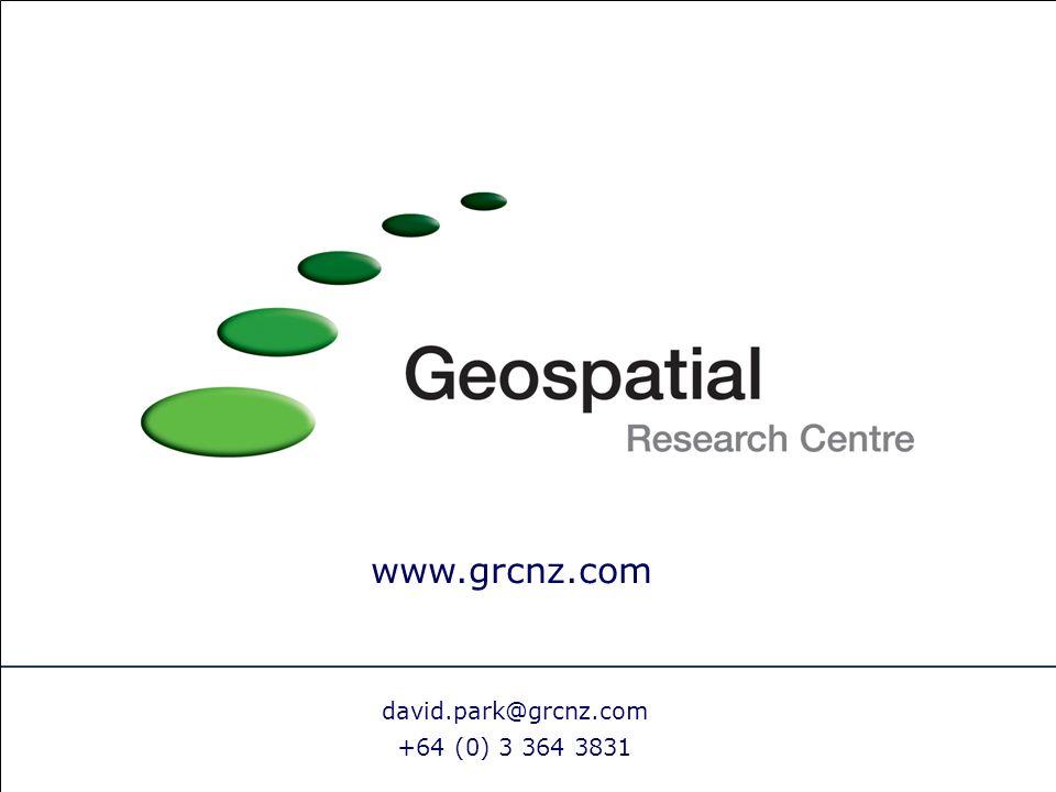 david.park@grcnz.com +64 (0) 3 364 3831 www.grcnz.com