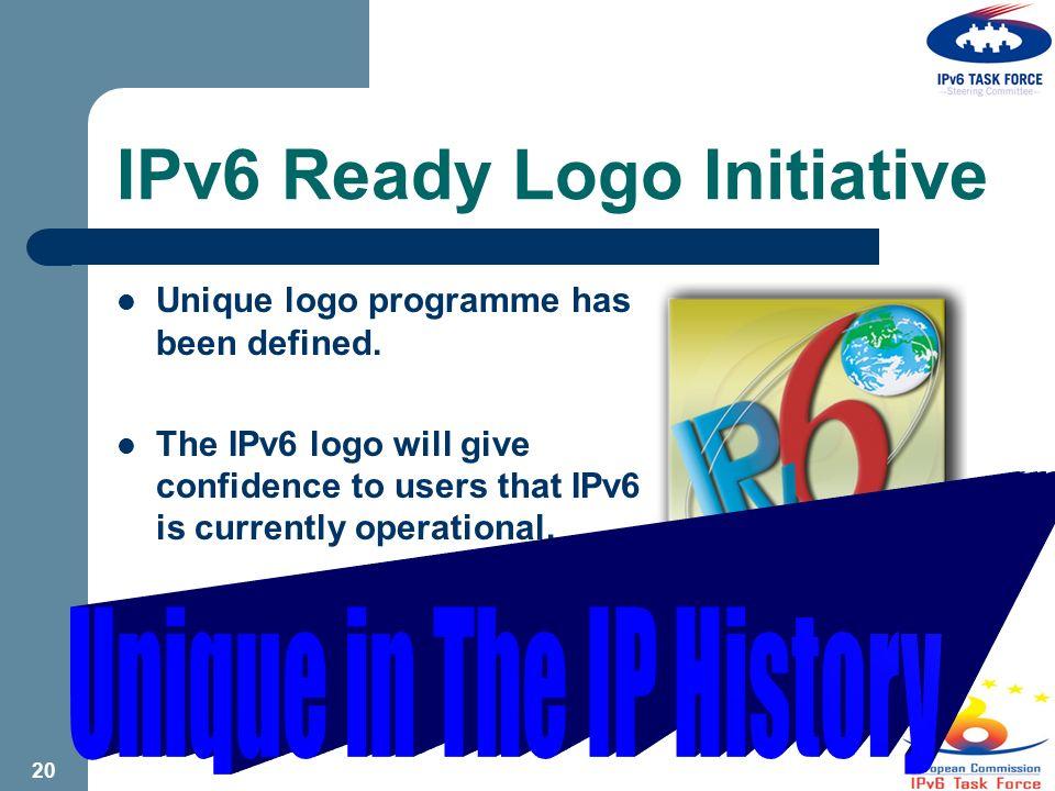 19 Non-Stop Education – 12 Summits Belgian Global IPv6 SUMMIT Second Russian Global IPv6 Summit Kuala Lumpur IPv6 Summit 2003 US Global IPv6 SUMMIT Tokyo Global IPv6 SUMMIT Australia IPv6 Conference BANGALORE Global IPv6 SUMMIT Tokyo IPv6 Business Summit 2004 Global IPv6 Summit in China 2004 US IPv6 SUMMIT Global IPv6 Summit Korea 2004