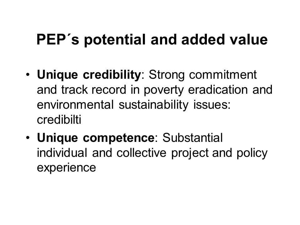 Main objectives Build consensus on key principles for pro- poor REDD - promote win-win options (co- benefits) Develop robust guidelines for monitoring and evaluating the social impacts of REDD.
