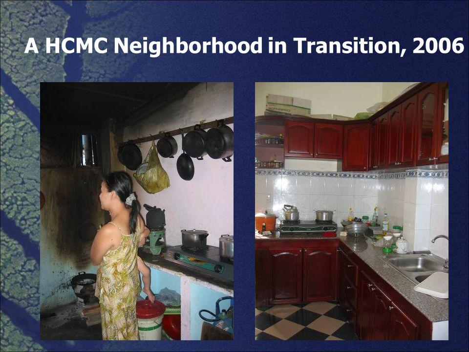 A HCMC Neighborhood in Transition, 2006
