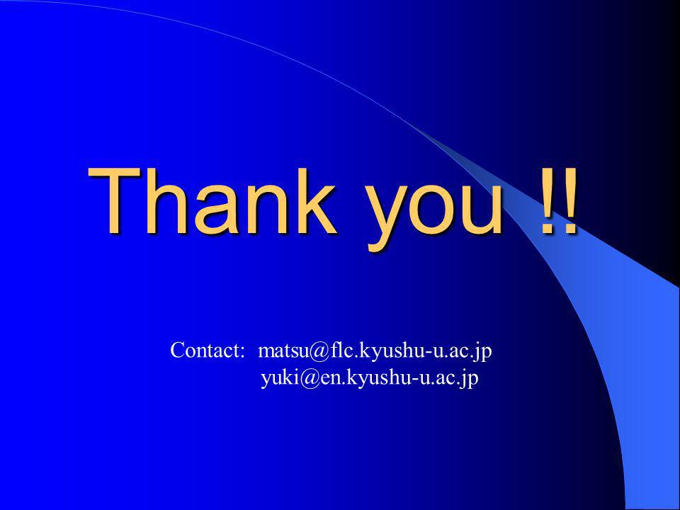Thank you !! Contact: