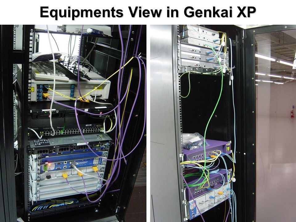 Equipments View in Genkai XP