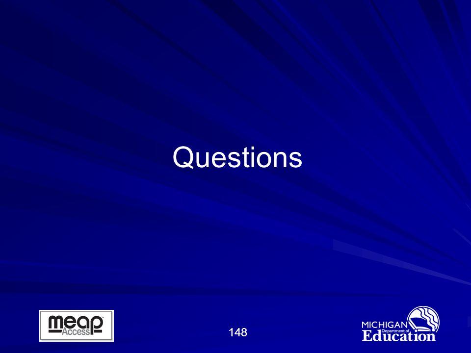148 Questions