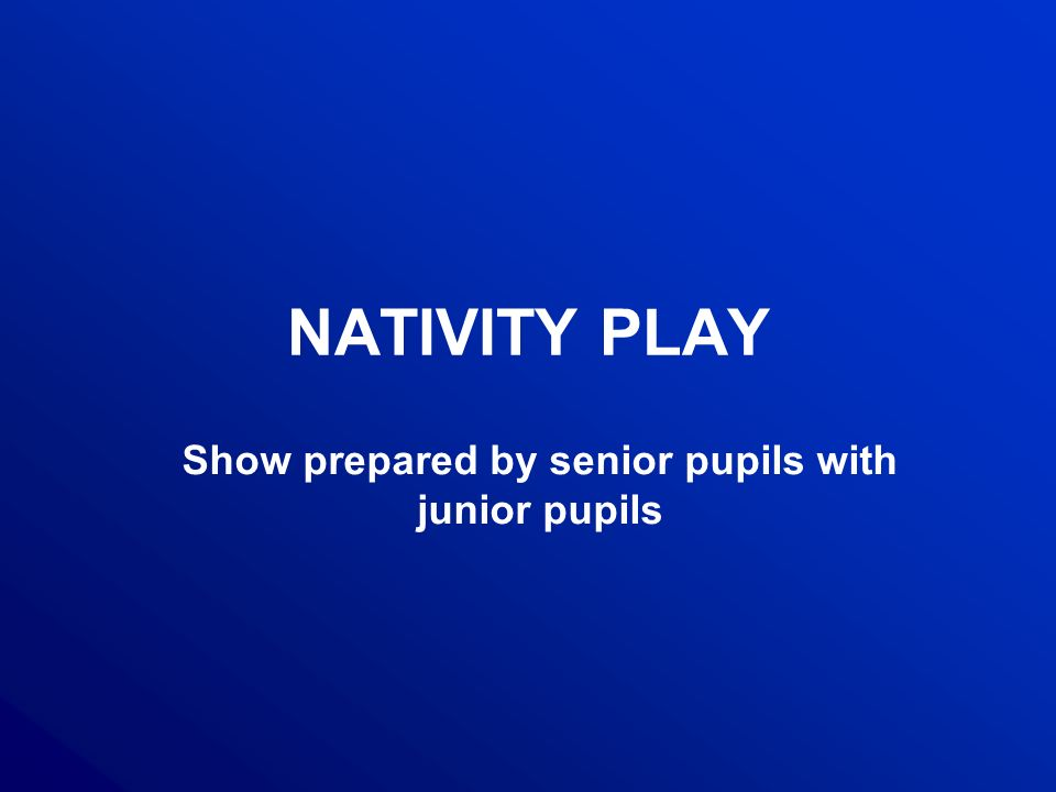A nativity play is shows about the Christmas modeled on medieval Franciscan mystery plays.