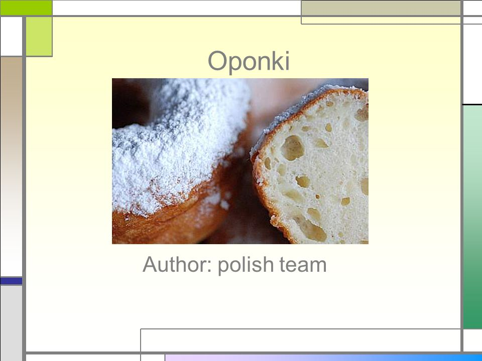Oponki Author: polish team