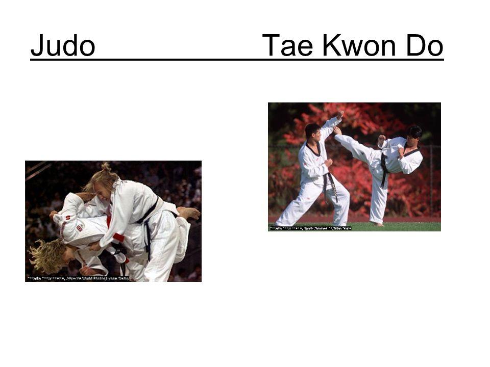 Judo Tae Kwon Do