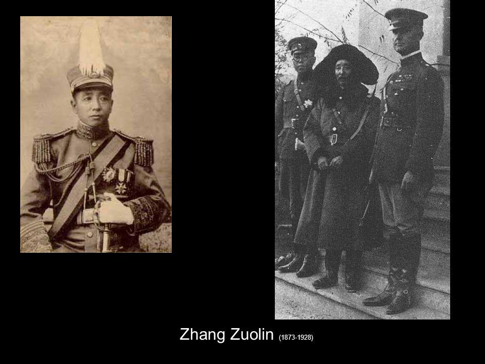 Zhang Zuolin (1873-1928)