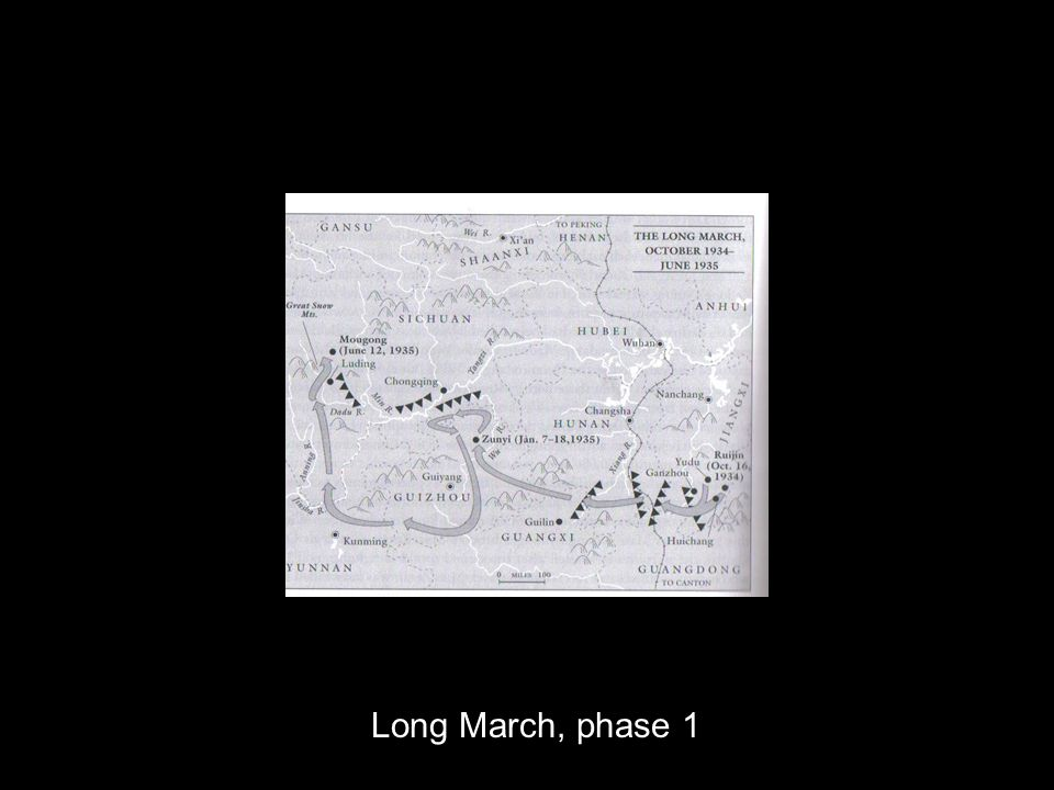 Long March, phase 1