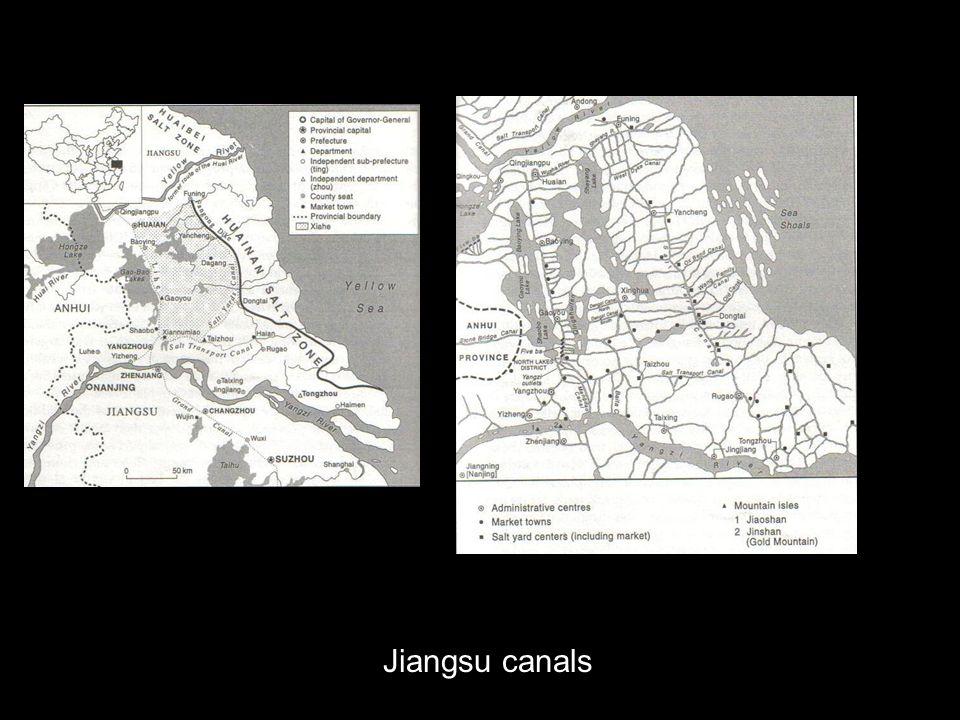 Jiangsu canals