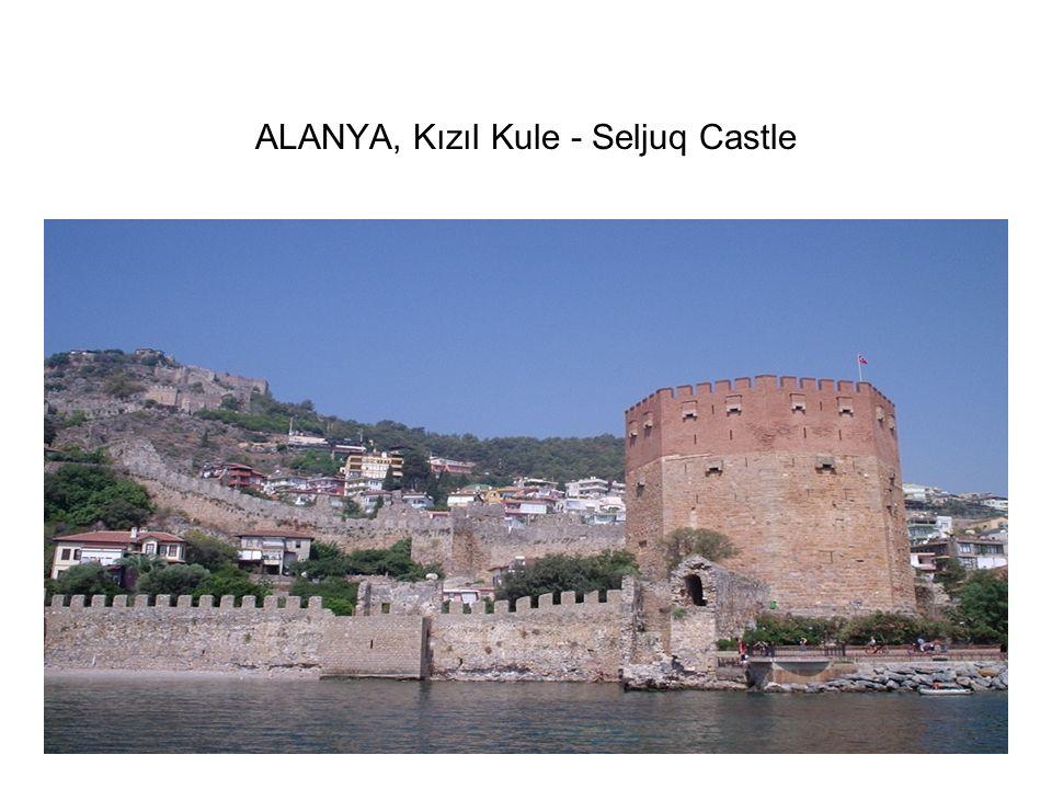 ALANYA, Kızıl Kule - Seljuq Castle