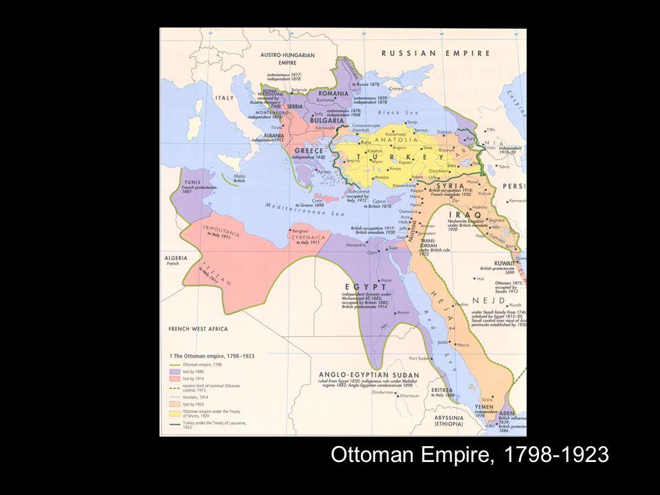 Ottoman Empire, 1798-1923