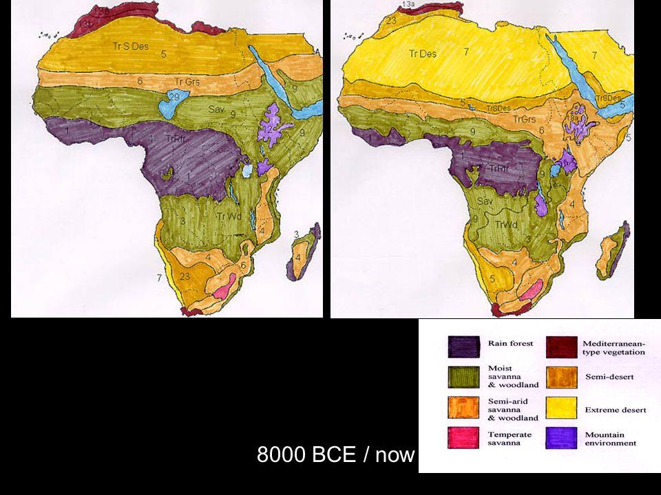 8000 BCE / now