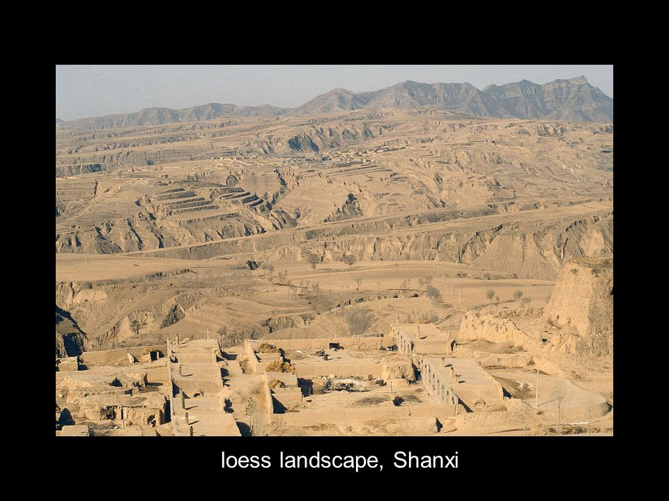 loess landscape, Shanxi