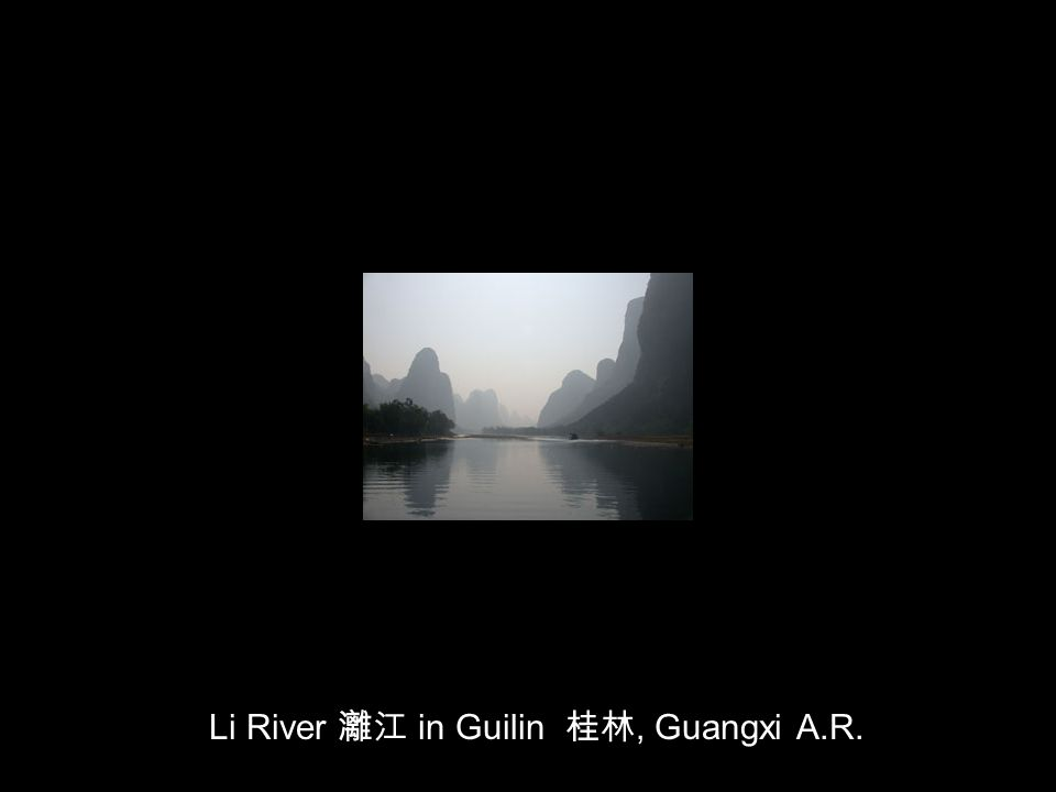 Li River in Guilin, Guangxi A.R.