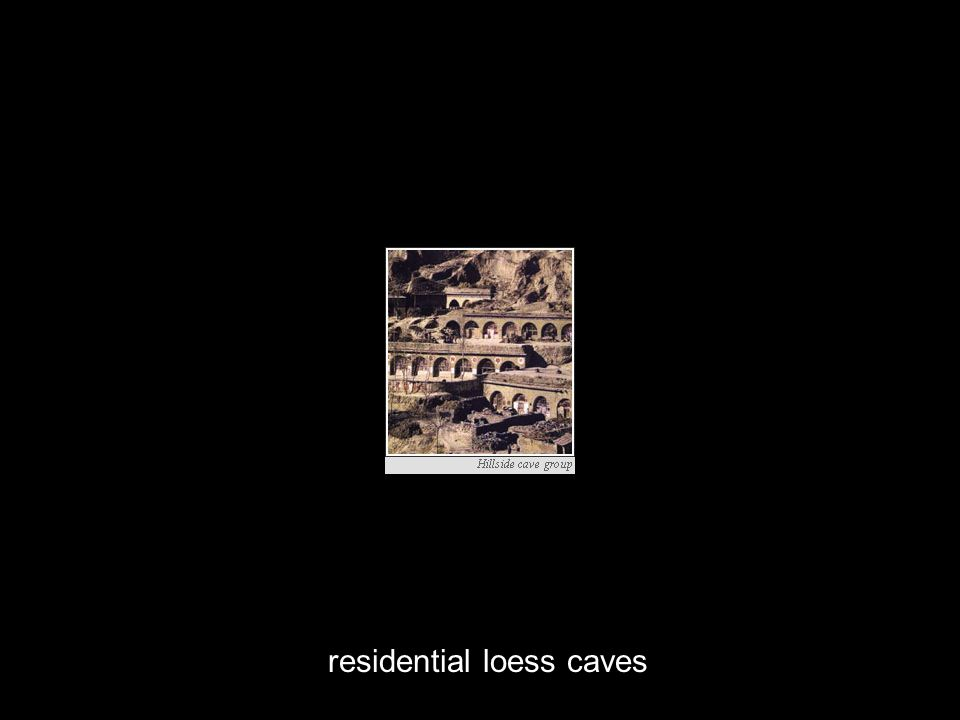 residential loess caves