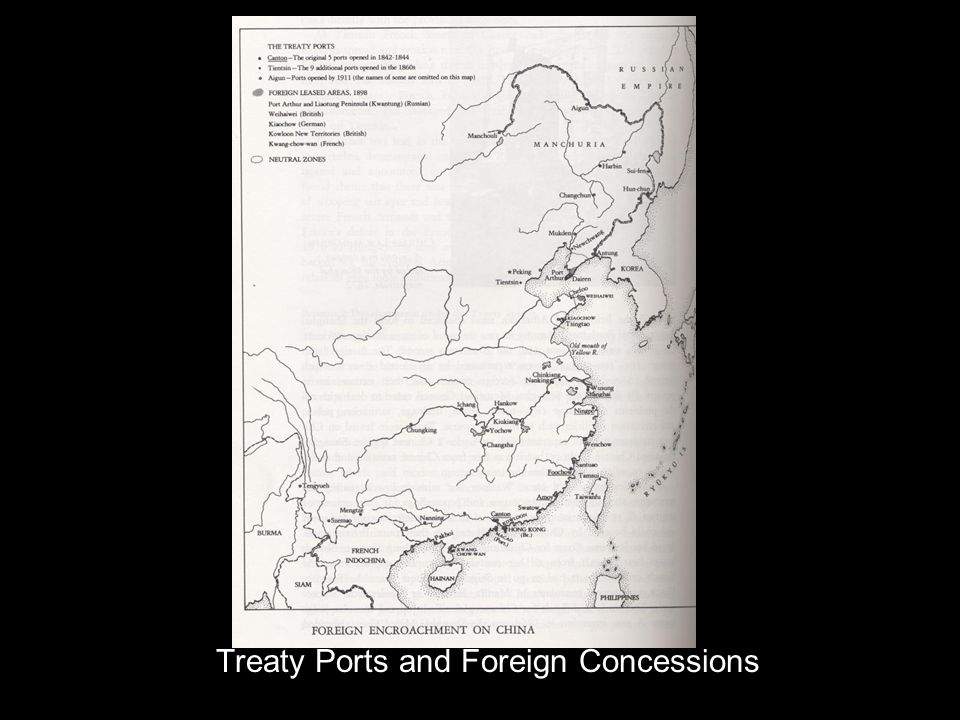 Treaty Ports and Foreign Concessions