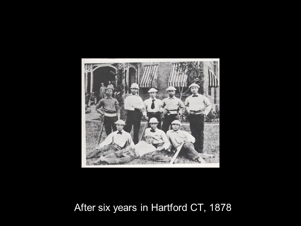 After six years in Hartford CT, 1878