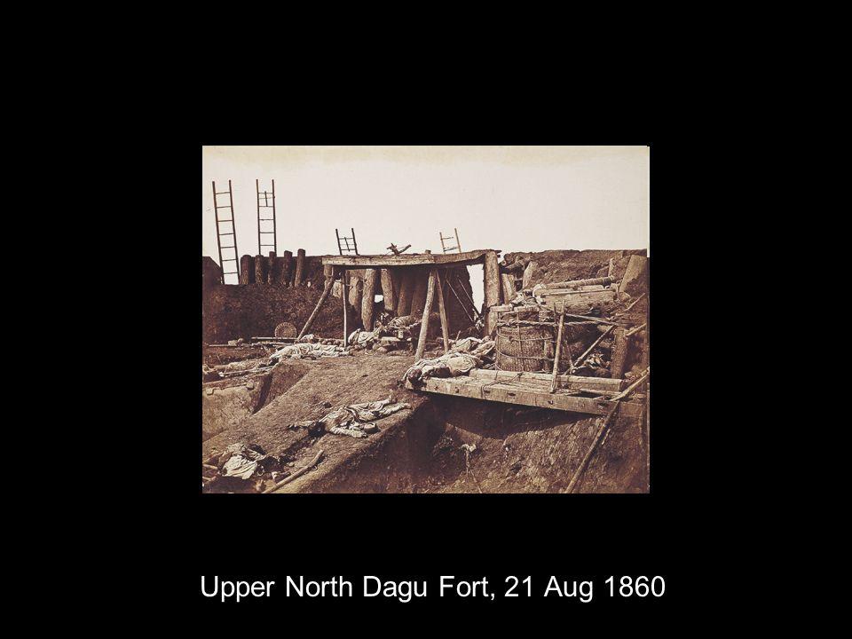 Upper North Dagu Fort, 21 Aug 1860