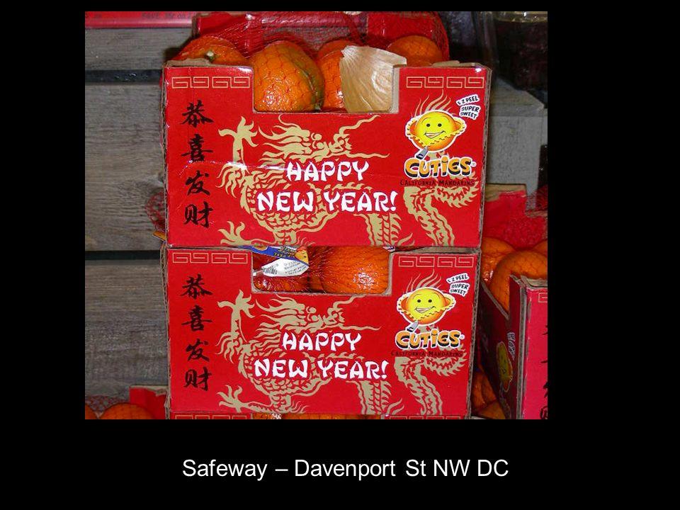 Safeway – Davenport St NW DC