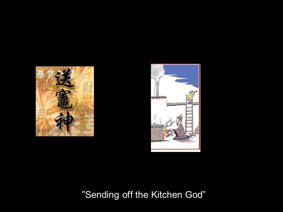 Sending off the Kitchen God