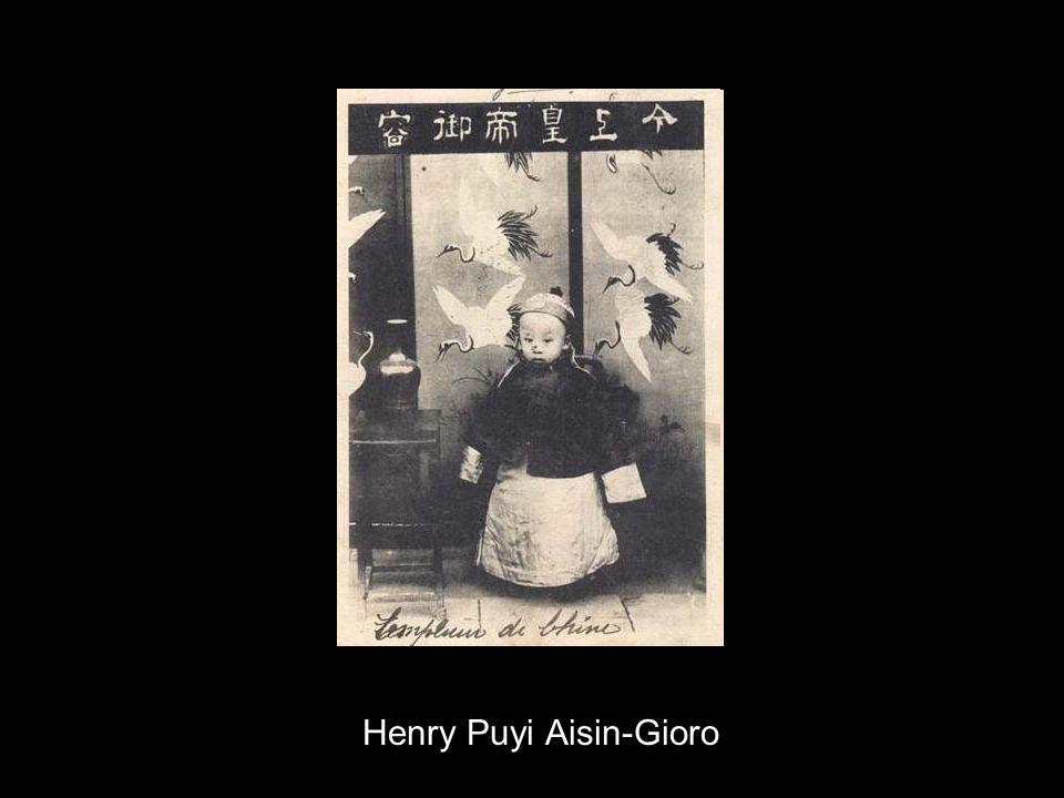 Henry Puyi Aisin-Gioro
