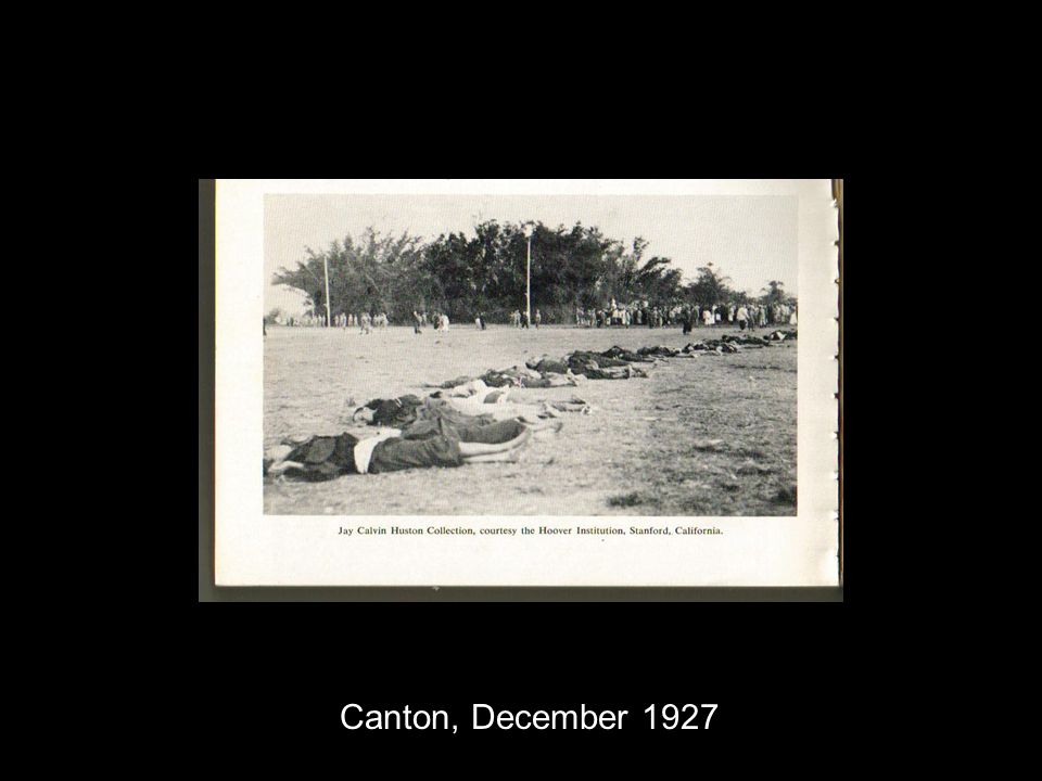 Canton, December 1927