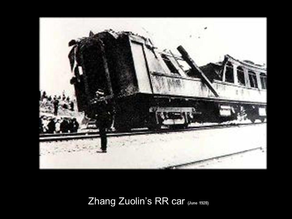 Zhang Zuolins RR car (June 1928)