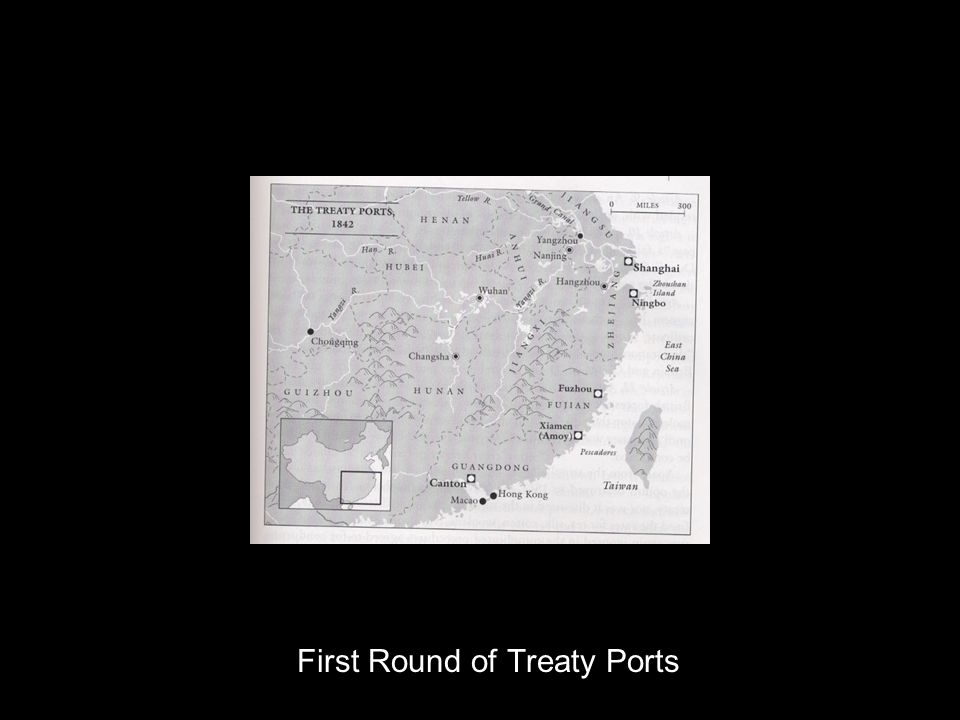 First Round of Treaty Ports