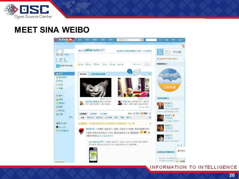 MEET SINA WEIBO 20