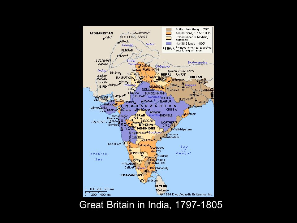 Great Britain in India, 1797-1805