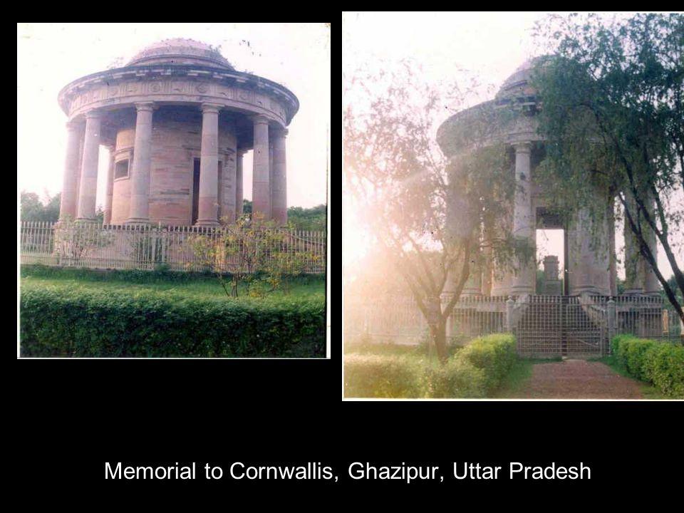 Memorial to Cornwallis, Ghazipur, Uttar Pradesh