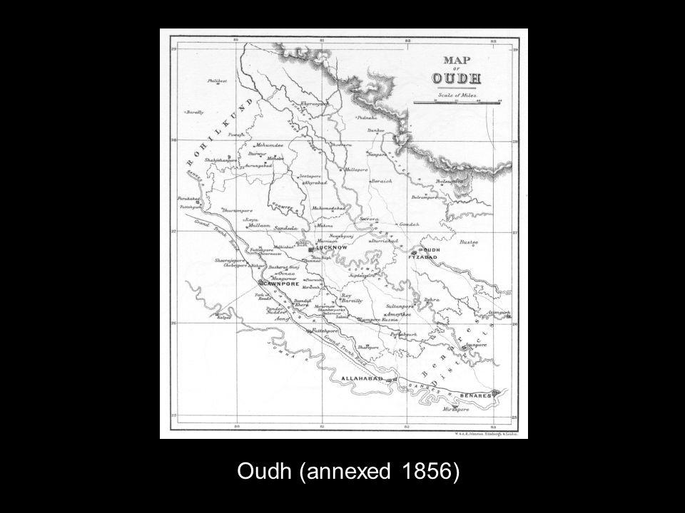Oudh (annexed 1856)