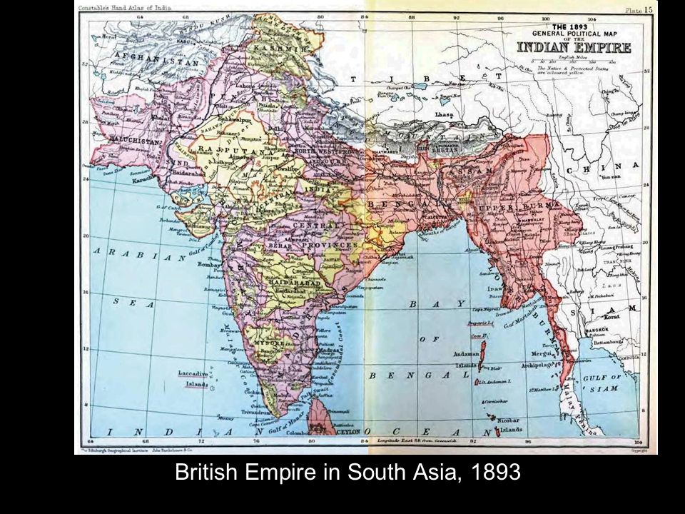 British Empire in South Asia, 1893