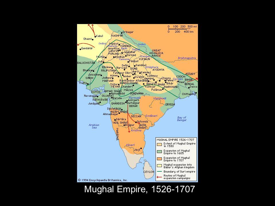 Mughal Empire, 1526-1707