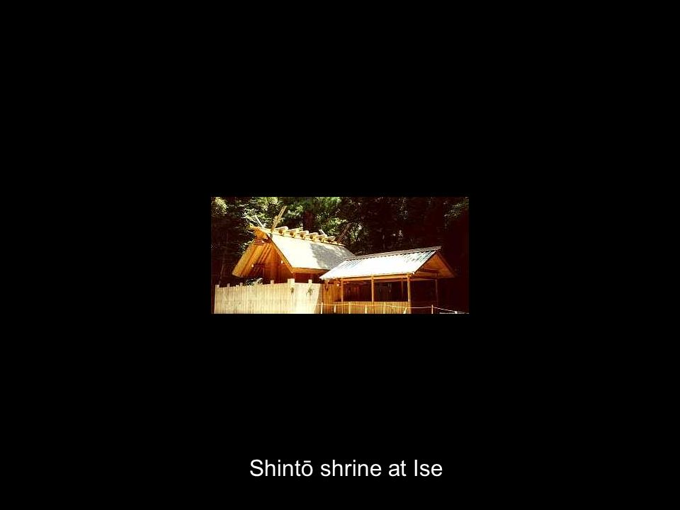Shintō shrine at Ise