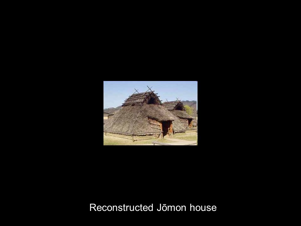 Jōmon developments in urbanism and palatial architecture [I met somebody with a hut.]