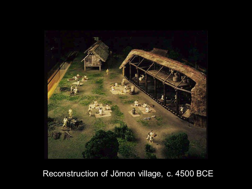 Reconstruction of Jōmon village, c. 4500 BCE