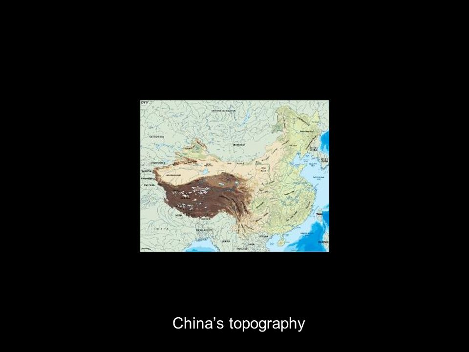 Chinas topography