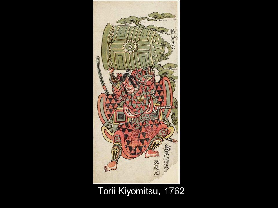 Torii Kiyomitsu, 1762