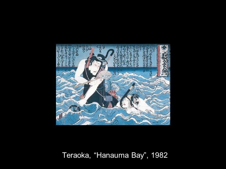 Teraoka, Hanauma Bay, 1982